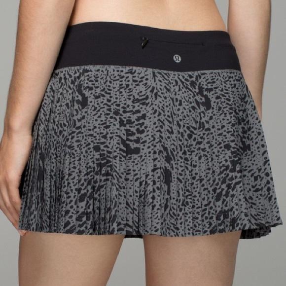 Lululemon Pleat To Street Skirt II Watermark Slate